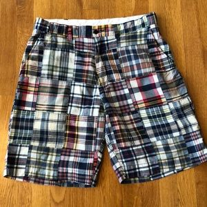 Polo by Ralph Lauren Madras Plaid Shorts Size 34